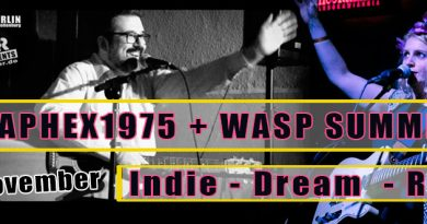 Kidaphex1975 & Wasp Summer – Indie-Dream-Rock Konzert