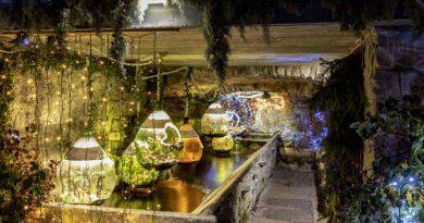 Der Wintersee: Krippen am Lago Maggiore